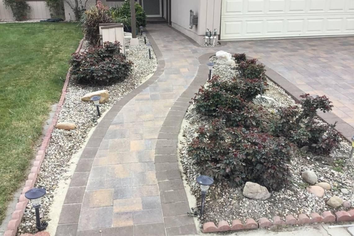 Walkway Pavers Nrg Builders Los Angeles Home Improvement